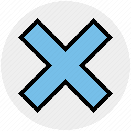Cancel, close, cross, no, reject icon - Download on Iconfinder