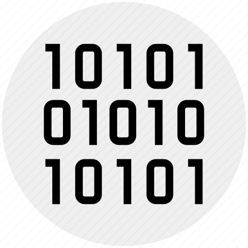 binary, bit coin, code, digital, encryption, safety, security icon