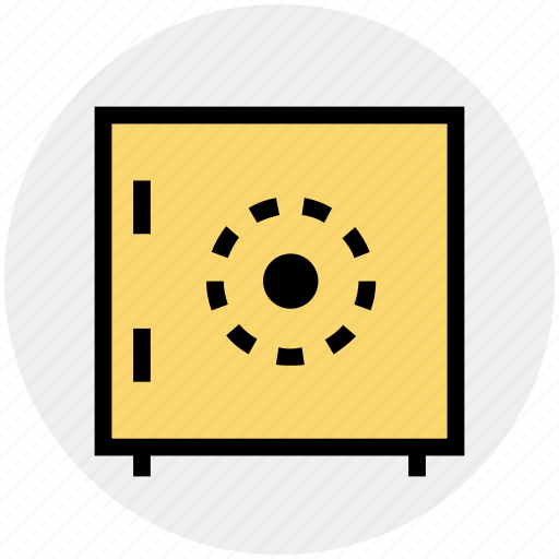 Bank locker, bank safe, locker, money box, safe box icon - Download on Iconfinder