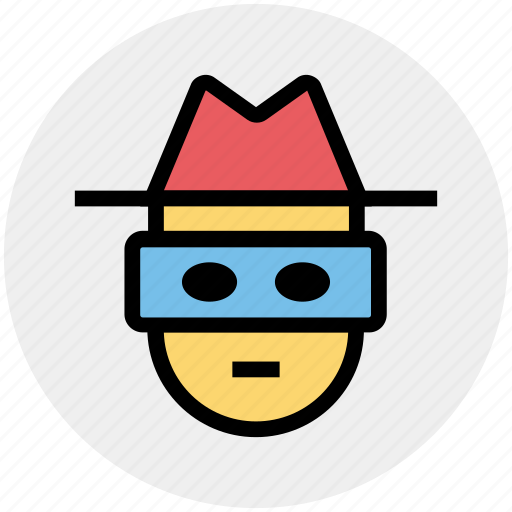 Detective, incognito, robber, spy, thief icon - Download on Iconfinder