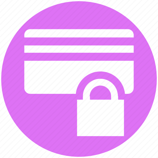 Atm lock, card password, credit card, debit card, password, secure, security icon - Download on Iconfinder