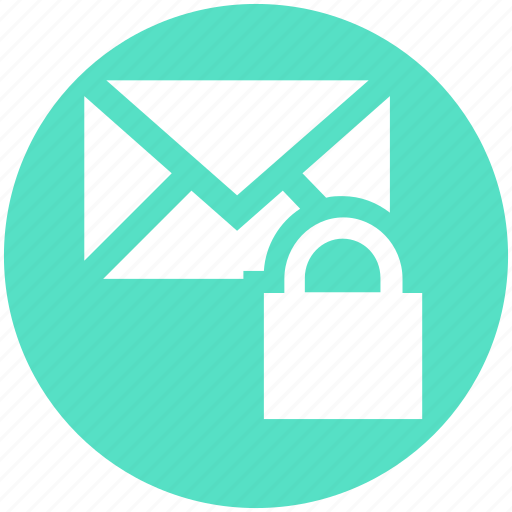Envelope, letter secure, lock, lock message, locked, mail, message icon - Download on Iconfinder