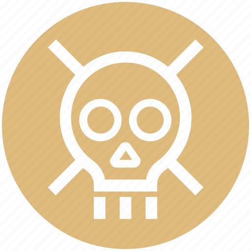 Danger, defender, lock, protection, security, skull, wanted icon - Download on Iconfinder