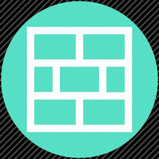 Brick, brick wall, bricks, building, firewall, wall icon - Download on Iconfinder