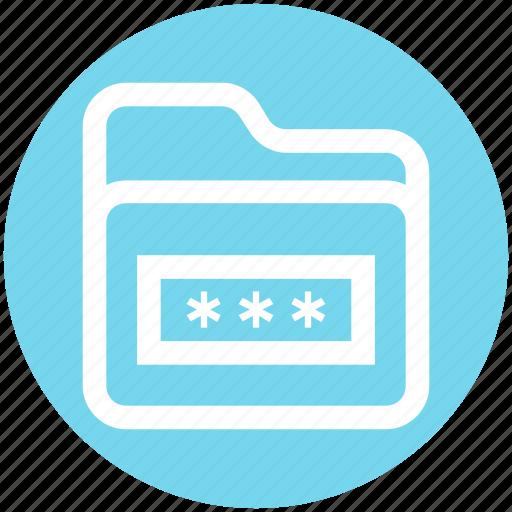 Folder, folder code, folder secure, internet password, password, security icon - Download on Iconfinder