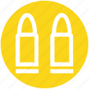 bullet, explosive, police, shell, war icon