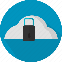 cloud, data, firewall, network, privacy, safety, security icon