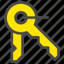 decrypt, key, keys, open icon