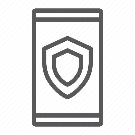 access, data, device, protection, safety, security, smartphone icon