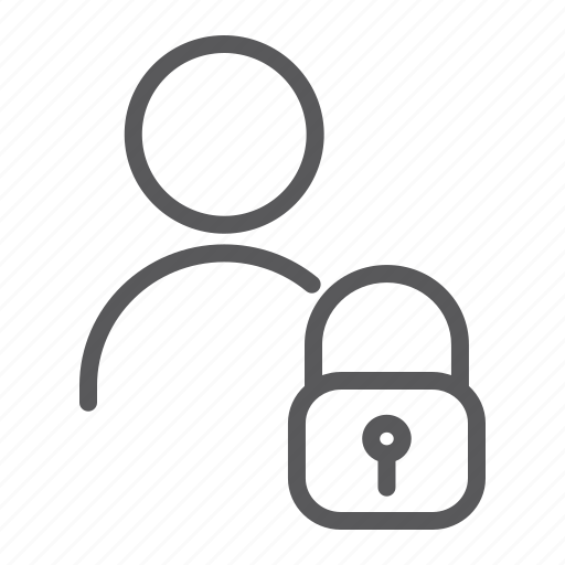 padlock, privacy, profile, safety, unlocked, user icon