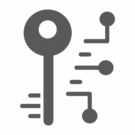 digital, key, lock, password, protection, safety, security icon