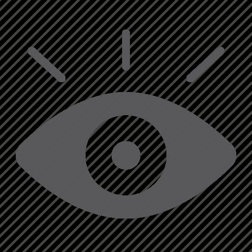 eye, human, lens, monitoring, security, vision icon