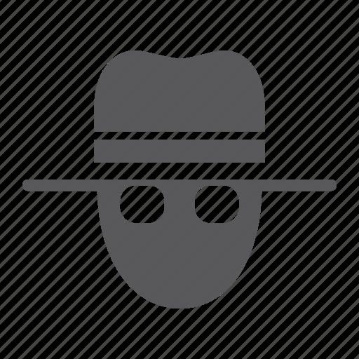 agent, detective, person, private, secret, security, spy icon