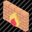 antivirus software, computing firewall, cyberwarfare, firewall, network security icon