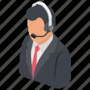 call center, customer care, customer representative, customer service, customer support icon