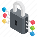 digital security, electronic protection, internet security, network security, online security icon