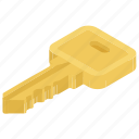 key, lock, locked, safe, security icon
