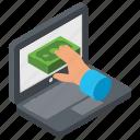 bank hacker, banking breaches, banking hacks, money hacker, stealing money icon