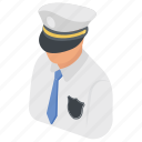 cop, police, policeman, security guard, security officer icon