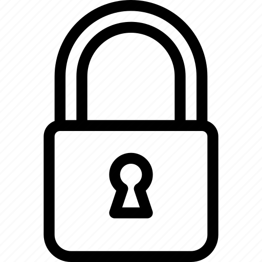 lock, locked, protection, safe, secure icon