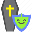 assurance, life, mortgage, protection, shield icon