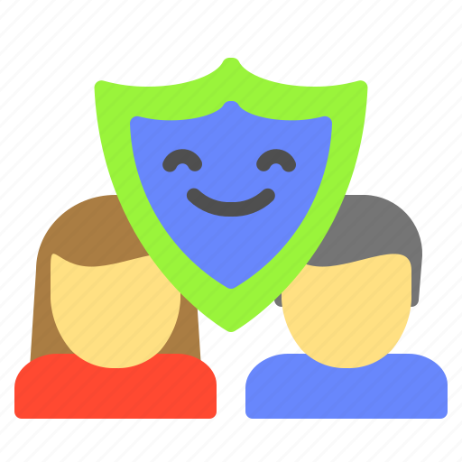 coulpe, family, protection, secure, support icon