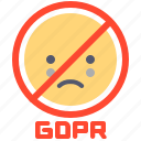 compliance, data, gdpr, privacy, protection icon