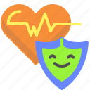 assurance, health, heart icon