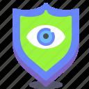 eye, individual, scan, secure, shield