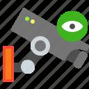 camera, eye, film, surveillance icon