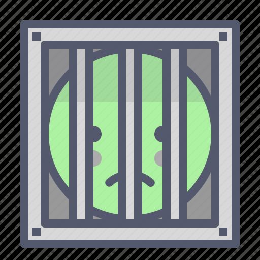 arrest, felony, jail, justice, prison icon