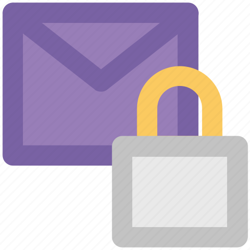 communication safety, digital security, email secret, email security, envelope, internet correspondence, lock icon