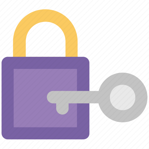 key, lock, locked, privacy, protection, security, security equipment icon