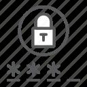 password, security, lock, padlock, login, key, entry