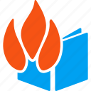burn, burned file, damage, destroy, document, documents, fire destruction icon