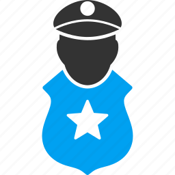 guard, police, protection, safety, secure, security, shield icon