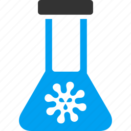antivirus, chemical flask, chemistry, infection, retort, vaccine, virus icon