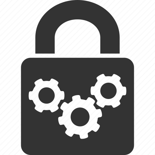 lock, protection, protection tools, safety, secure, security options, settings icon