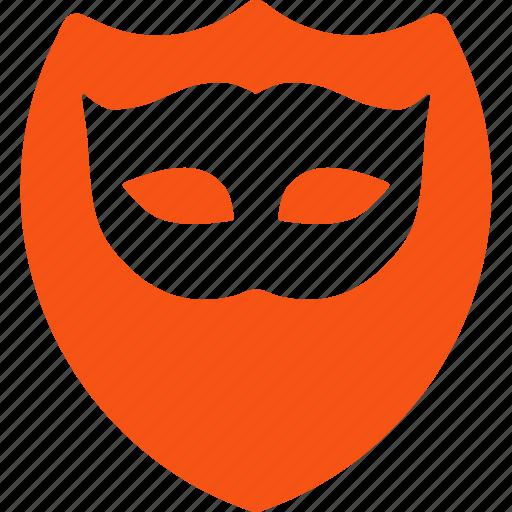 antivirus, carnival, mask, privacy, private, secret, shield icon