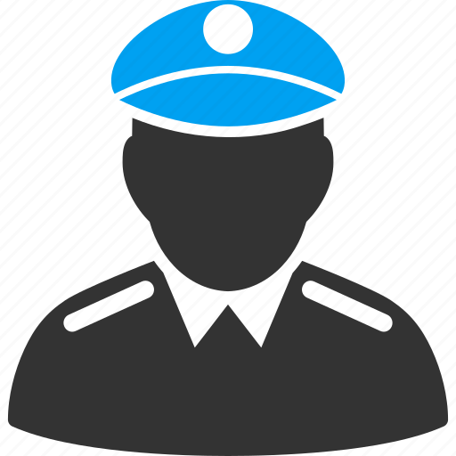 army captain, guard, military, police officer, policeman, security, soldier icon