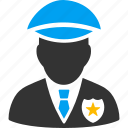 guard, justice, law, police officer, protect, security, sheriff icon