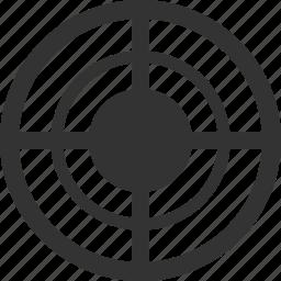 aim, center, goal, marketing, seo, target, targeting icon