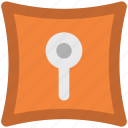 key slot, keyhole, locked, privacy, safety, secure, vision slit icon