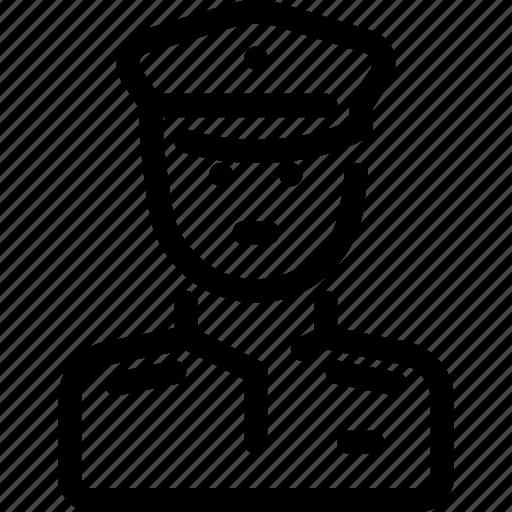 man, person, police, policman, security icon