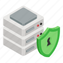 data protection, database security, dataserver security, server protection, server security icon