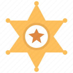achievement, american, authority, award, badge, cowboy, crime, danger, enforcement, justice, law, legal, marshal, medal, military, officer, police, policeman, protection, reward, safety, security, shape, sheriff, shield, sign, star, usa, western, winner icon