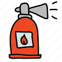 emergency, equipment, extinguisher, safety, security icon