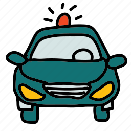 car, police, security, vehicle icon