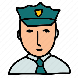 office, police, policeman, safety, security icon