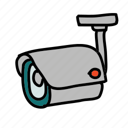 camera, safety, security, watch, webcam icon